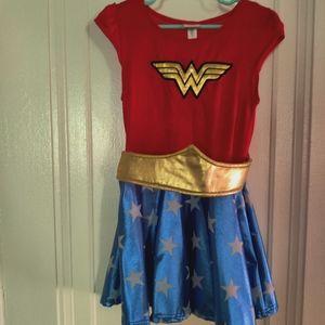 DC Wonder woman kids costume